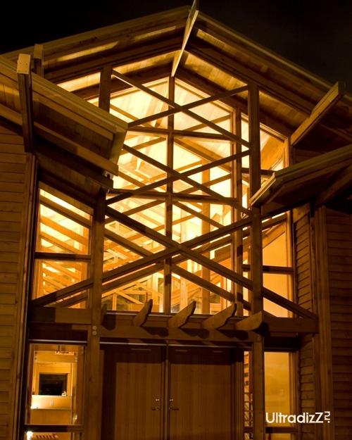 деревянный каркасный дом 9