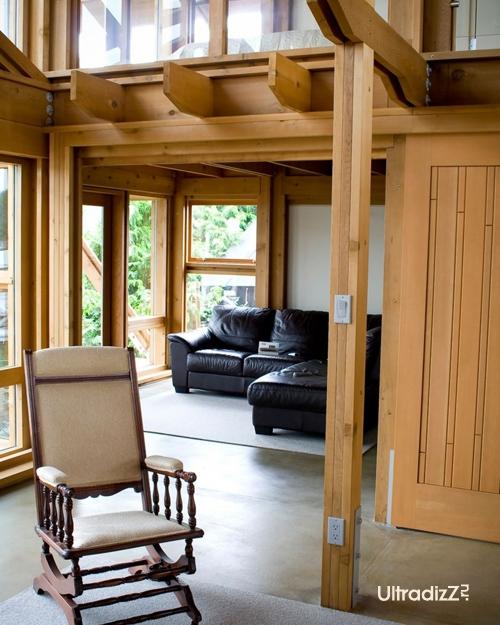 деревянный каркасный дом 18