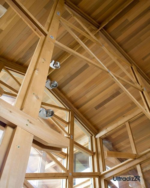 деревянный каркасный дом 13