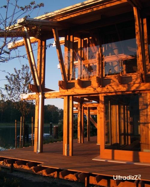деревянный каркасный дом 20