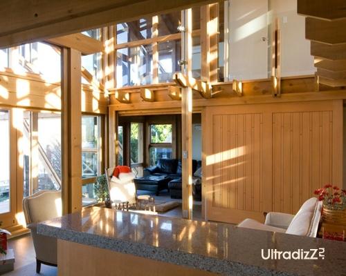 деревянный каркасный дом 16
