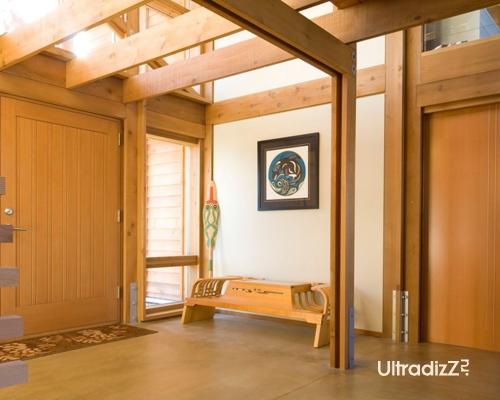 деревянный каркасный дом 12