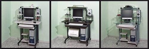 компактные компьютерные столы Escado