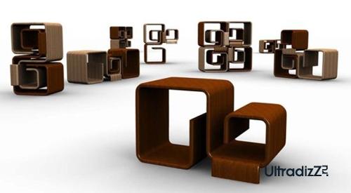 многофункциональная мебель для маленьких комнат