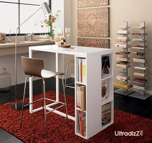 многофункциональный стол для маленькой комнаты