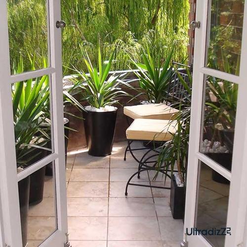 керамический пол на балконе