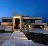 необычный дом из бетона