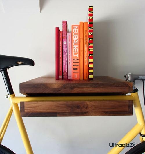 полка для хранения велосипеда