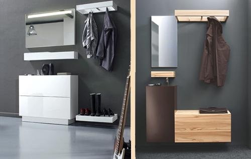функциональная мебель для интерьера прихожей
