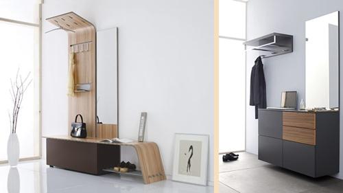 мебель для интерьера современной прихожей