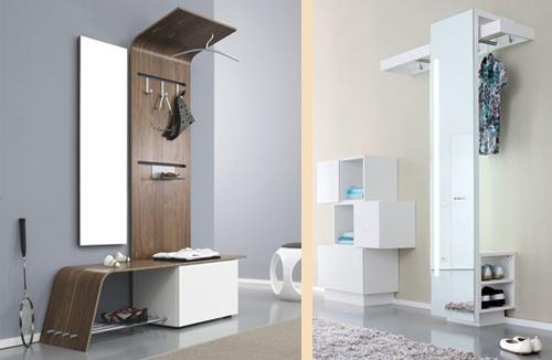 современная мебель для интерьера прихожей