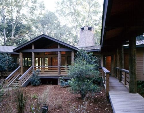 веранда резиденции Robbins Garden