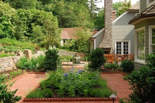 красивый декоративный огород