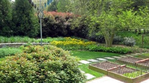 декоративные грядки огорода