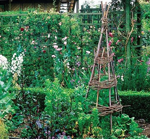 огородная стойка в форме иглу