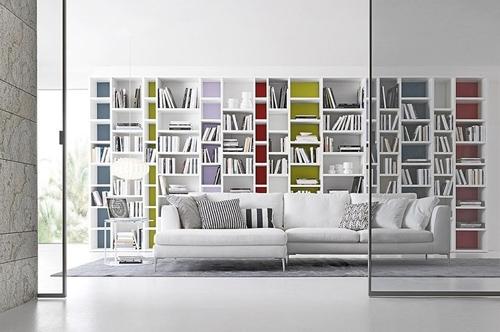 стильный стеллаж для книг