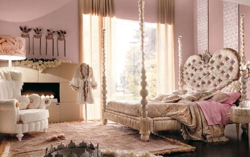 романтичная комната для девочки