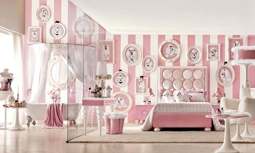 роскошная комната для девочки