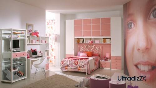 розовый цвет в современном интерьере