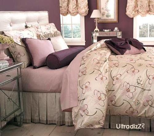 сочетание розового с фиолетовым