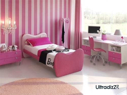 розовый, белый и черный в интерьере