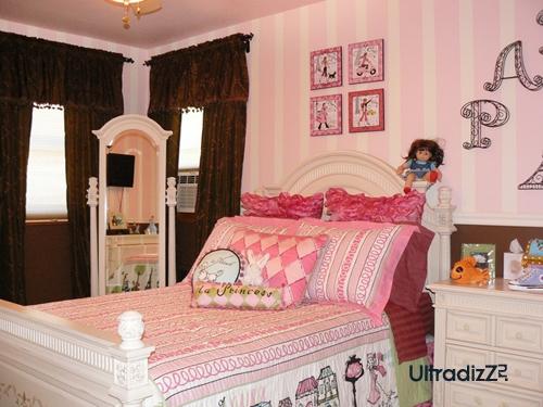 розовый цвет в классической детской