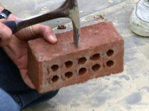 как построить камин этап 6