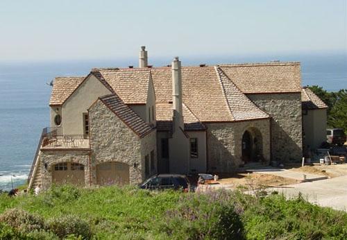 ретро дизайн загородного дома