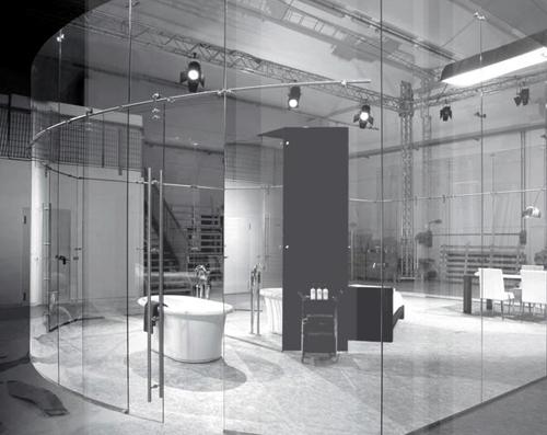 стеклянные конструкции для интерьеров