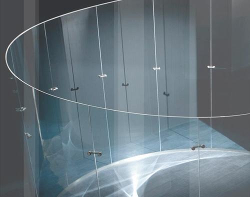 монтажные элементы стеклянной конструкции