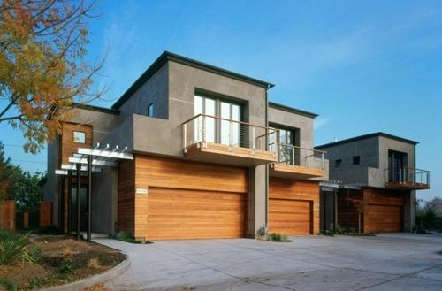 современный дизайн фасадов коттеджей 1