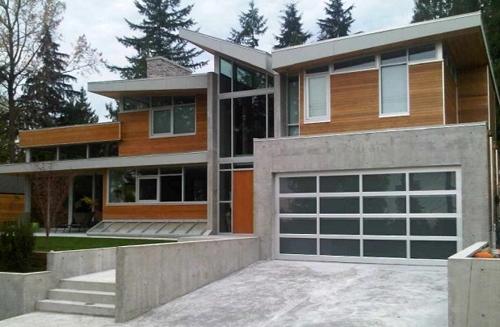 дизайн фасадов монолитных коттеджей 3