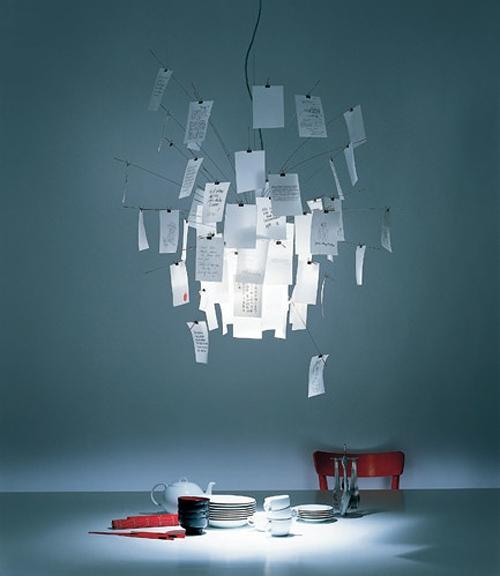 романтичные светильники Ingo Maurer 4