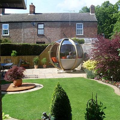 садовый павильон в частном дворе