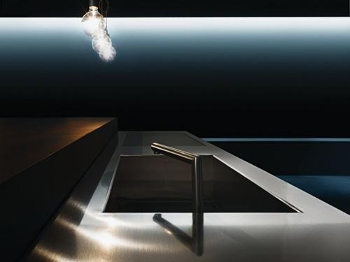 телескопический кухонный кран