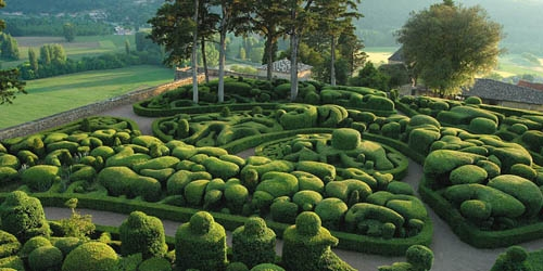 садовая панорама