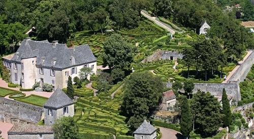 замок и сад Marqueyssac