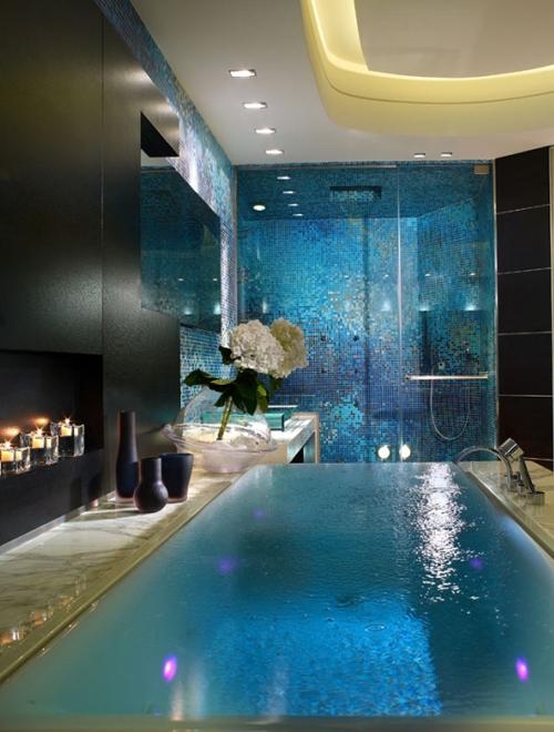 элитный интерьер ванной