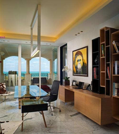 элитный дизайн кабинета