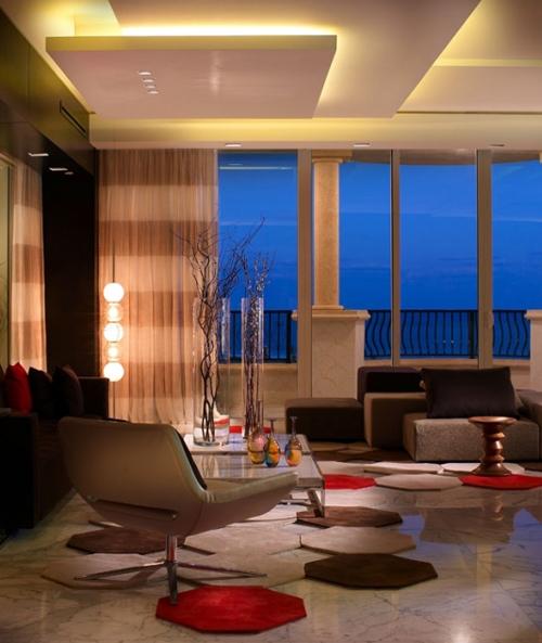 дизайн элитной гостиной