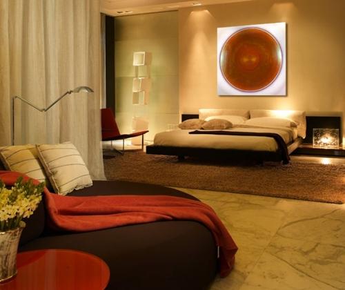 элитный дизайн интерьера спальни