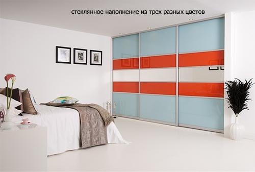 комбинированные двери в шкаф купе 2