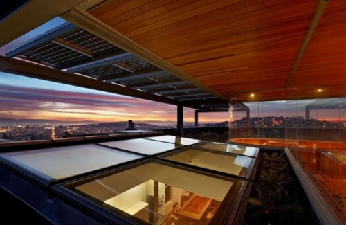 окна на крыше каркасной пристройки