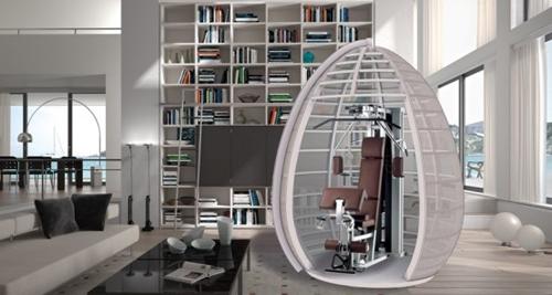 универсальная комната в виде тренажерной