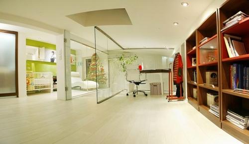 красивый интерьер небольшой квартиры
