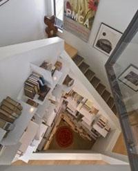 домашняя библиотека в интерьере дома