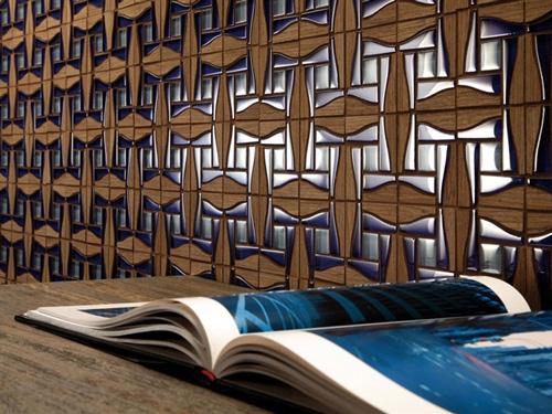 мозаичная плитка для ванной с твердой древесиной
