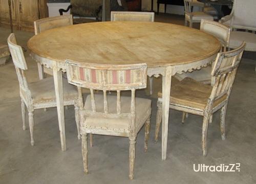 искусственное старение деревянной мебели
