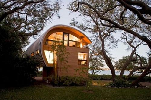 гостевой домик в форме гамака