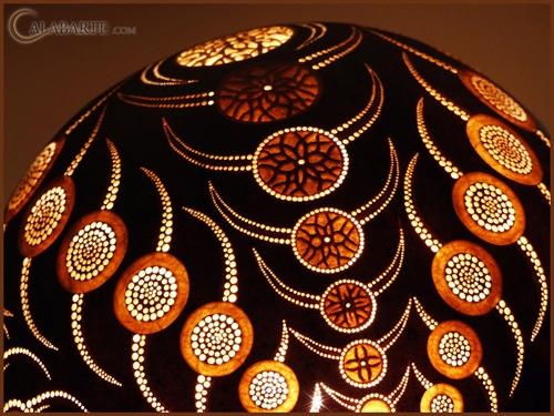 дизайн декоративной настольной лампы